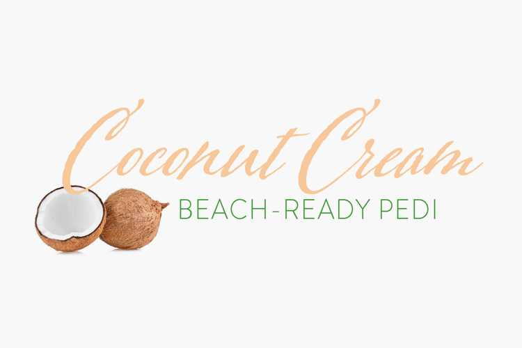 Coconut Cream Beach-Ready Pedi