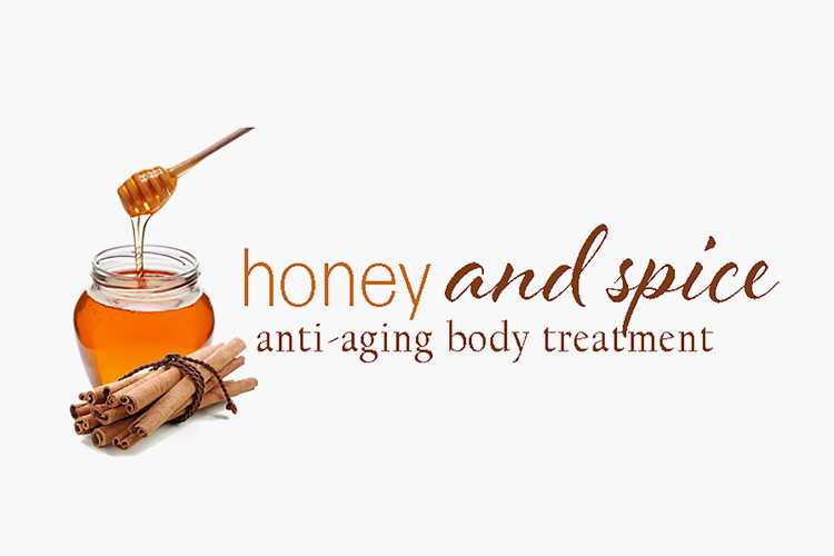Honey & Spice anti aging body treatment
