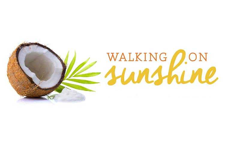 Advertisement for the Walking on Sunshine Pedicure
